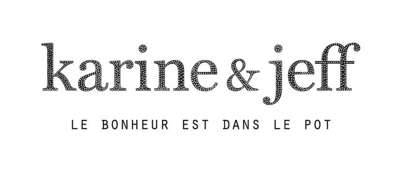 Logo Karine et Jeff : exemple de storytelling